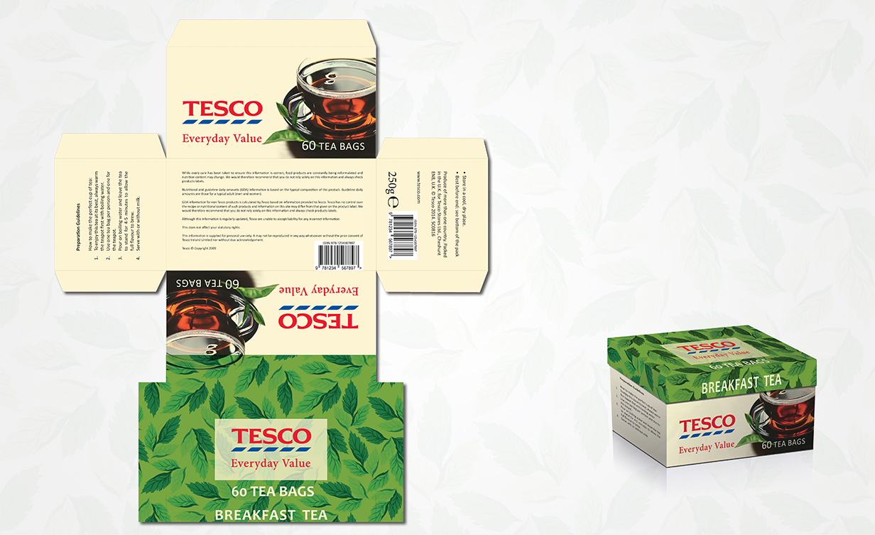tesco tea bag