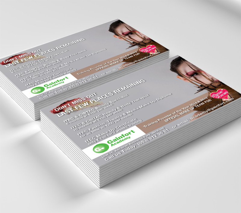 leaflet design Wexford